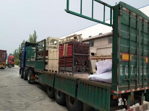 Shipping of Automatic Gypsum Cornice Making Machine