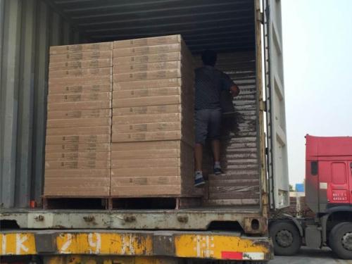 Shipping of PVC Gypsum Ceiling board