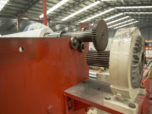 Heat shrinkable machine details