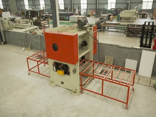 Full automatic punching machine equipment for sound absorption board