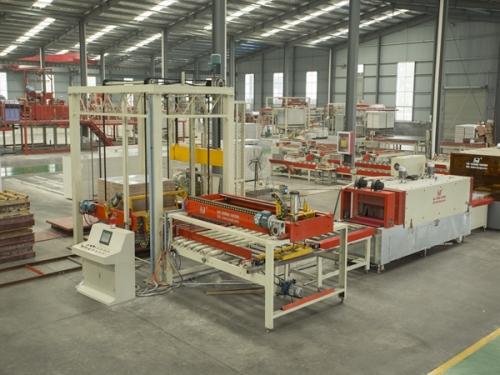 PVC full automatic palletizing machine