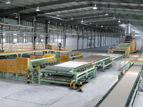 Automatic Gypsum Ceiling Making Machine